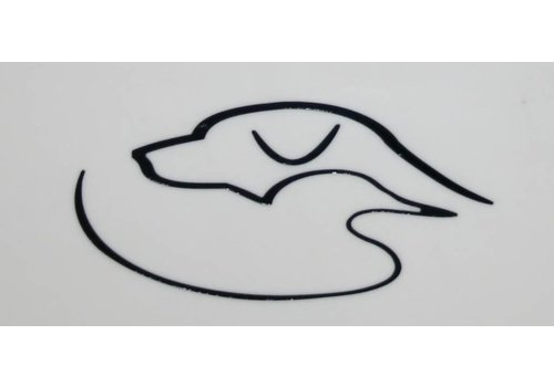 Duck Dog Duck Dog Decal Black