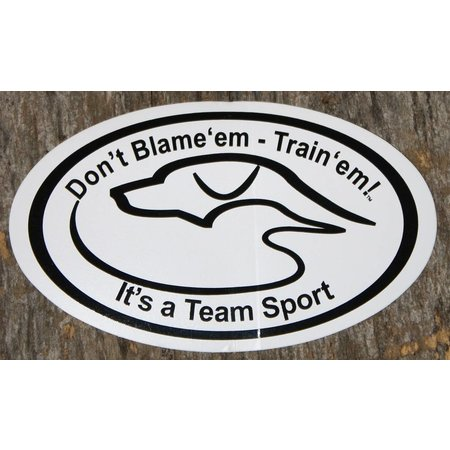 Duck Dog Decal Don't Blame 'em