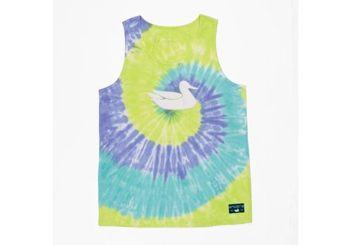 Southern Marsh Southern Marsh Whitling Tie Dye Tank Lilac Lime & Teal