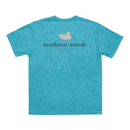 Southern Marsh Authentic Logo Washed Barbados Blue