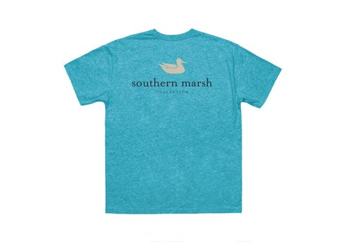 Southern Marsh Southern Marsh Authentic Logo Washed Barbados Blue