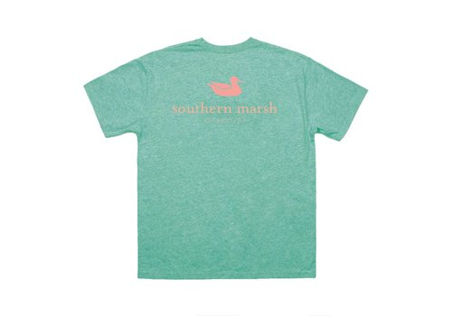 Southern Marsh Southern Marsh Authentic Logo Washed Kelly Green