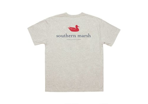 Southern Marsh Southern Marsh Authentic Logo Washed Oatmeal