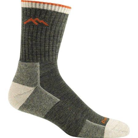 Darn Tough Merino Wool Micro Crew Sock Cushion Olive