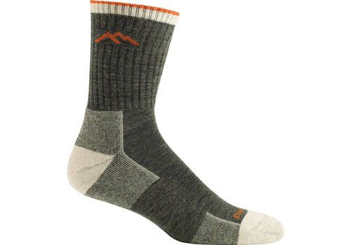 Darn Tough Darn Tough Merino Wool Micro Crew Sock Cushion Olive