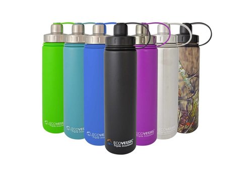 Boulder Insulated Water Bottle With Strainer - 24 oz
