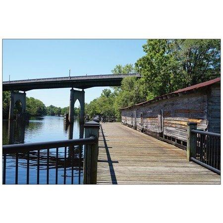 Postcard Conway Riverwalk