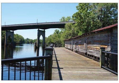 Vistaprint Postcard Conway Riverwalk