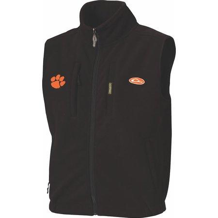 Drake CLM MST Layering Vest Black