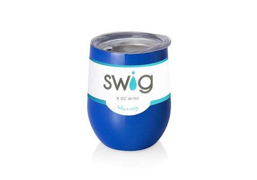 Swig Swig 9 oz Wine Royal Blue