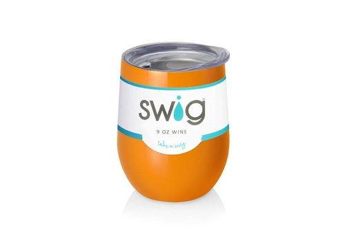 Swig Swig 9 oz Wine Orange