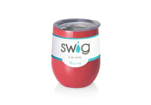Swig Swig 9 oz Wine Coral