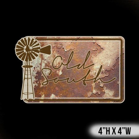 Old South Vintage Decal