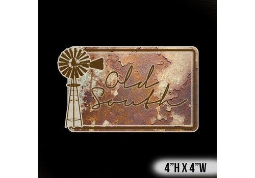 Old South Old South Vintage Decal