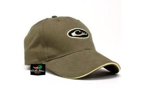 Drake Drake Six Panel Formed Hat Oval Logo Loden OSFM