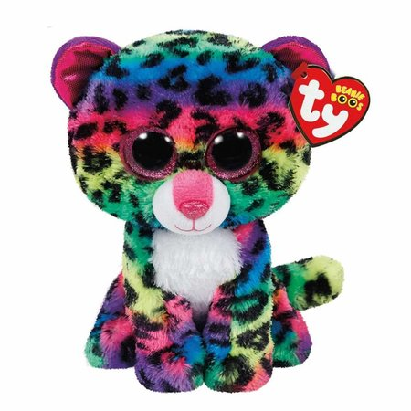 Dotty the Rainbow Leopard Beanie Boo 6""