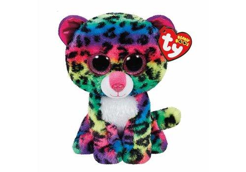 """Ty Dotty the Rainbow Leopard Beanie Boo 6"""""""