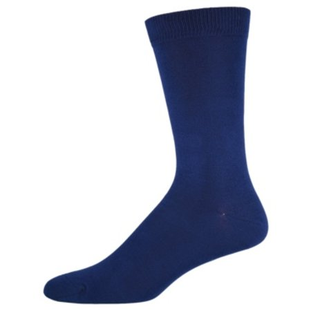 Sock Smith Solid Navy Size 10-13