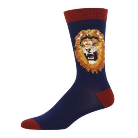 Sock Smith Lion Navy Size 10-13