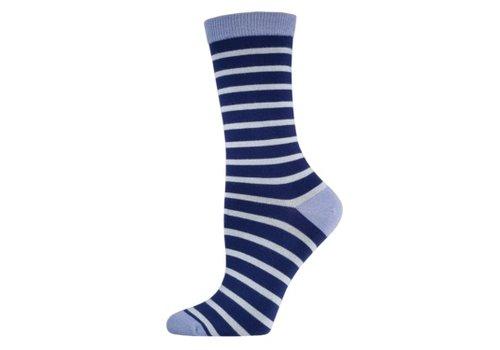 SockSmith Sock Smith Sailor Stripe Navy Size 9-11