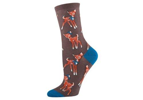 SockSmith Sock Smith Retro Fawn Brown Size 9-11