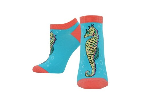 SockSmith Sock Smith Ocean - Pony Bright Blue Size 9-11