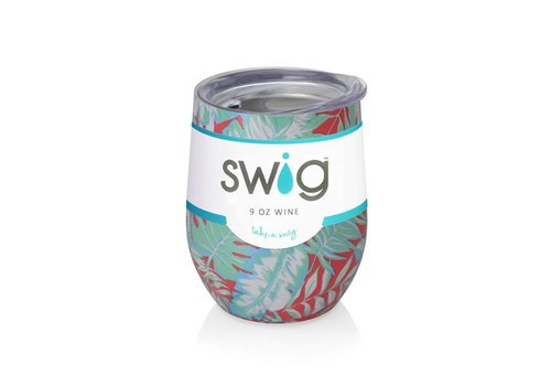 Swig Swig 12oz Wine Resort Life Island Palms