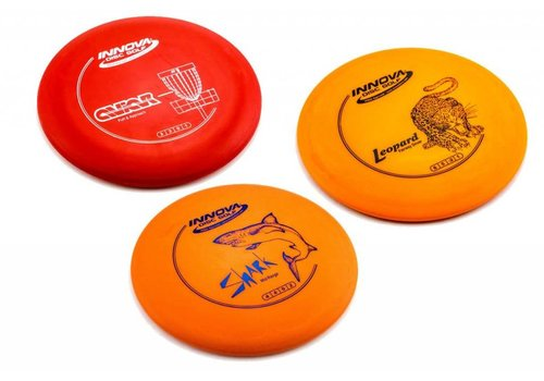 INNOVA 3 Pack DX SpaceSaver Disc Set