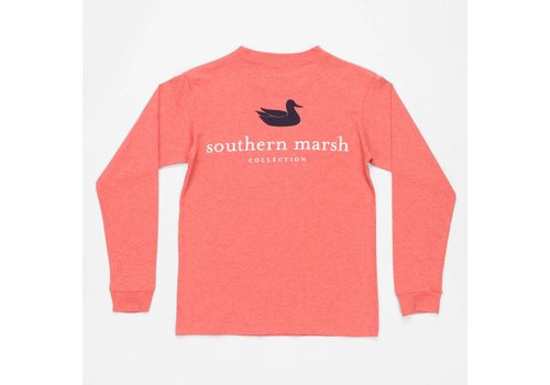 Southern Marsh Southern Marsh Authentic Washed Red L/S