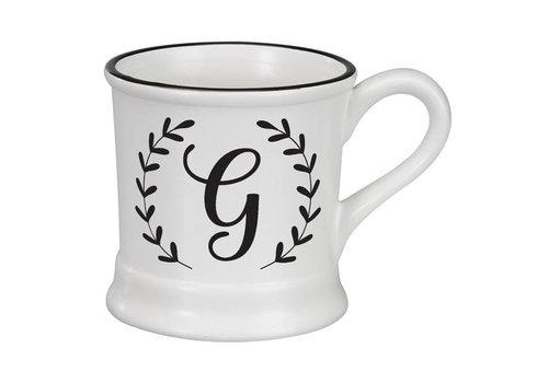 Monogram Ceramic Mug - G