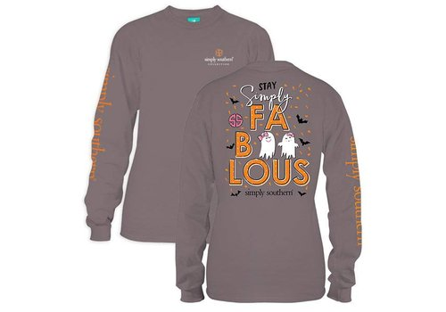Simply Southern Simply Southern Fab-Boo-lous LS