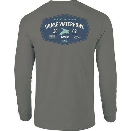 Drake 2002 L/S Grey