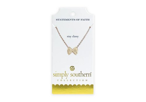 Simply Southern Simply Southern Gold Necklace Classy