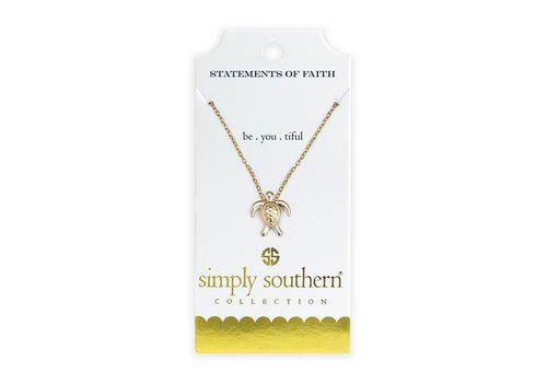 Simply Southern Simply Southern Gold Necklace Be-you-tiful