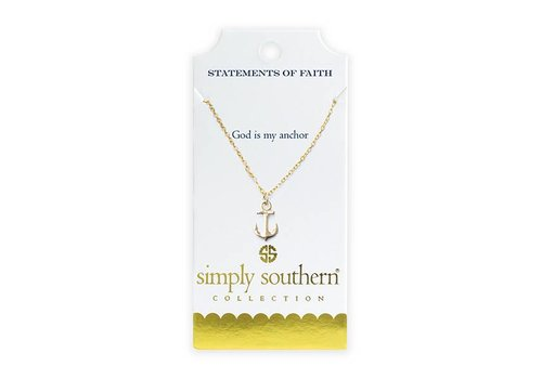 Simply Southern Simply Southern Gold Necklace God