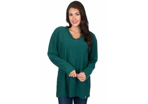 Lauren James Lauren James Shaggy Sweater Evergreen
