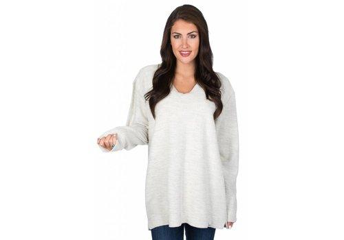 Lauren James Lauren James Shaggy Sweater Oatmeal