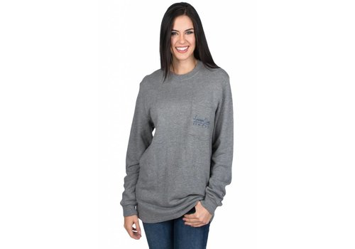 Lauren James Lauren James Logo Sweatshirt Grey