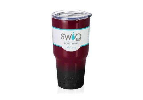 Swig Swig 30oz Tumbler Maroon|Black
