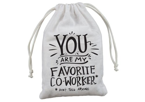 "4-Pack Gift Bags - Favorite Co-worker 5"" x 7.50"""