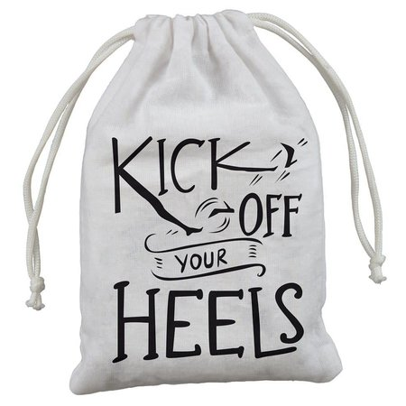 "4-Pack Gift Bags - Kick Off Heels 5"" x 7.50"""