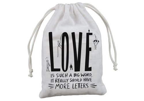 "4-Pack Gift Bags - Love 5"" x 7.50"""