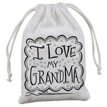 """4-Pack Gift Bags - I Love My Grandma 5"""" x 7.50"""""""