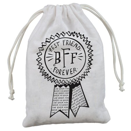 """4-Pack Gift Bags - Best Friends Forever 5"""" x 7.50"""""""