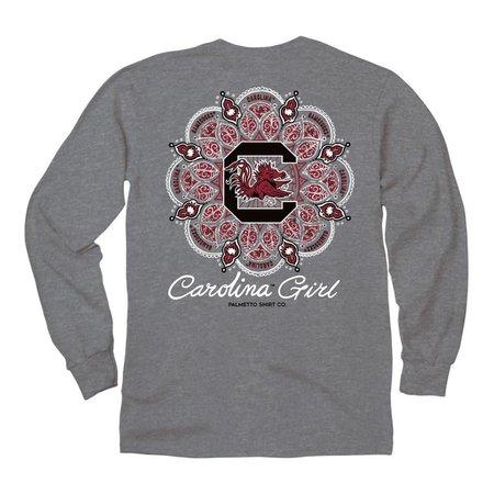 Palmetto Shirt USC Decorative Block C LS