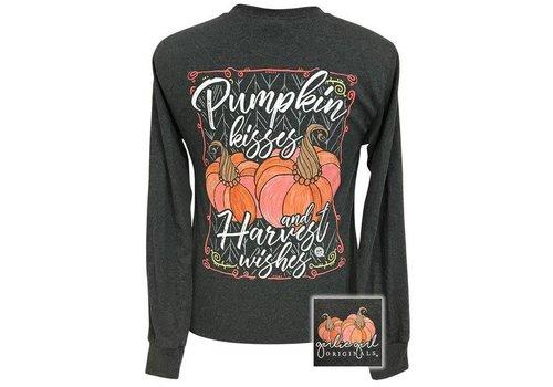 Girlie Girl Girlie Girl Pumpkin Kisses Black Heather