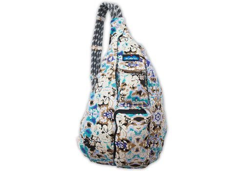 KAVU Kavu Rope Bag Limited Edition Midnight Floral