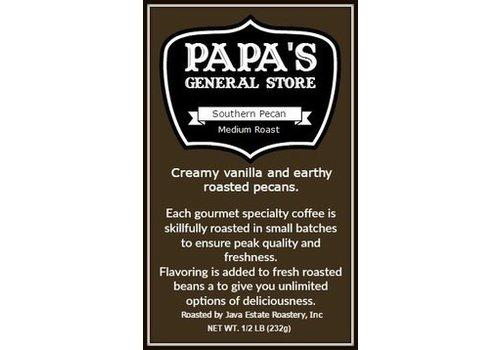 Java Estate Southern Pecan Coffee 1/2 lb