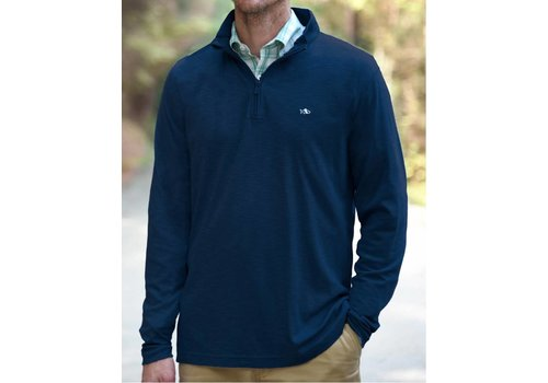 Fish Hippie Fish Hippie Shad Point Quarter Zip Navy