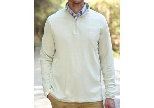 Fish Hippie Fish Hippie Shad Point Quarter Zip Bone